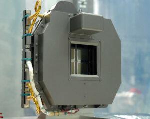 Přístroj NIRSpec pro Dalekohled Jamese Webba vybavený mikrozávěrkami.