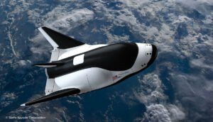 Miniraketoplán Dream Chaser bez modulu Shooting star.