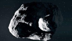 Umělecká představa dvojplanetky Didymos.
