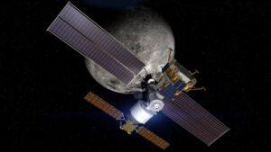 Lander Boeingu ve variantě připojení ke Gateway. Boeing ve zprávě zmiňuje kombinaci landeru a Gateway jako nezbytnou pro udržitelný průzkum Měsíce.