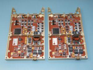 Jaroslav Laifr vyfotil konstrukci napájení přístroje RPWI. Na jeho vývoji se totiž podílí i Česká republika.