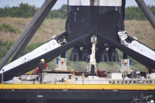 Detail na motory Merlin po čtvrtém použití