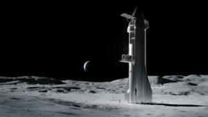 SpaceX do programu CLPS přihlásila loď Starship.