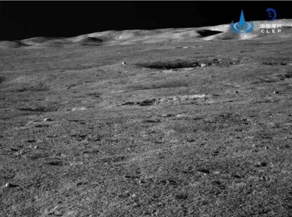 Snímek ze sondy Chang'e 4 pořízený během jejího 13. lunárního dne.