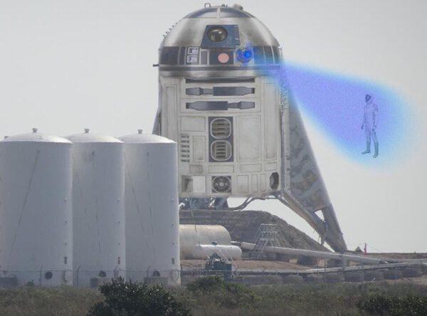 Skutečná identita Starship Hopperu odhalena. Sdílejte, než to smažou!