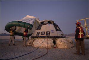 Starliner po návratu z mise OFT.