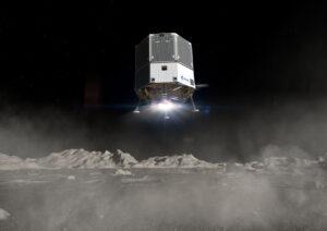 Heracles v konfiguraci pro dodávku nákladu, například roveru pro astronauty programu Artemis