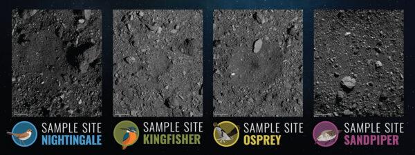 Čtyři finálové lokality - Sandpiper, Osprey, Kingfisher a Nightingale.
