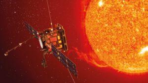 Budoucí pozice Solar Orbiteru u Slunce