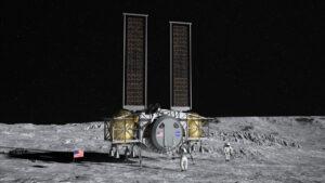 Návrh pilotovaného landeru společností Dynetics/SNC