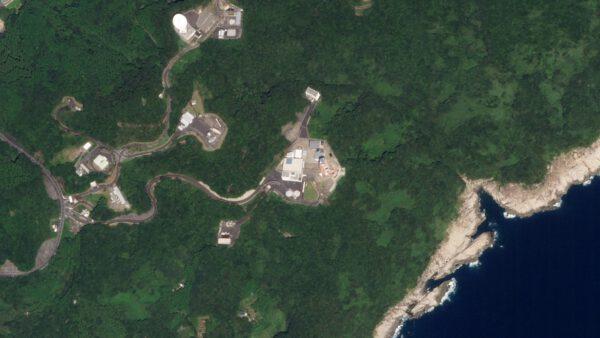 Pro Japonsko historicky významné kosmické centrum. Startovala odsud první japonská družice Ósumi. Snímek byl pořízen 29. září 2019.