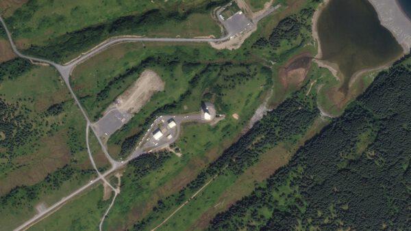 Výstavba kosmodromu Kodiak trvala celkem 3 roky. První orbitální let se uskutečnil v roce 2001.