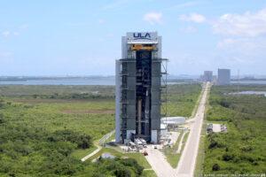 Vertikální obslužná věž společnosti ULA