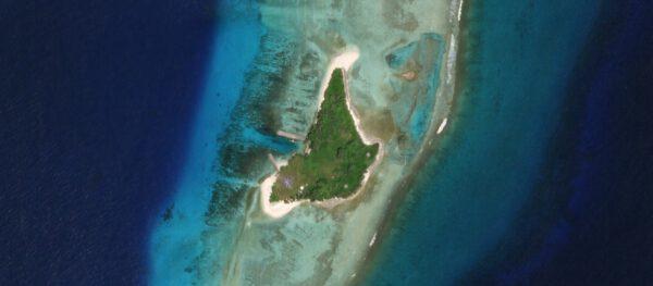 Kosmodrom na ostrově Omelek je nejmenším americkým kosmodromem.