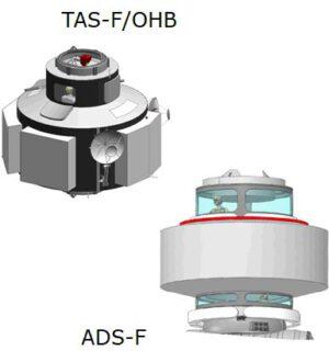 Konkurenční koncepty modulu ESPRIT od společností Thales Alenia/OHB a Airbus (nezaměňovat s modulem I-HAB)