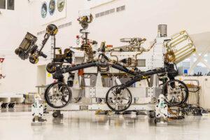 Vozítko Mars rover 2020 je připraveno na přesun.