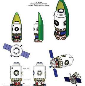 Nikdy nerealizovaný modul Node 4 měl rozpracované studie možností jeho dopravy k ISS.