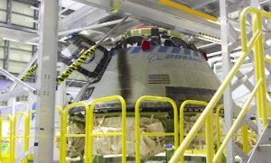 Starliner z mise OFT v Kennedyho kosmickém středisku