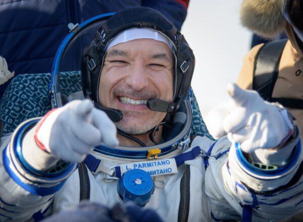 Luca Parmitano po přistání