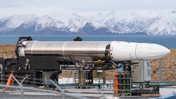 Rocket 3.0 na kosmodromu Kodiak.