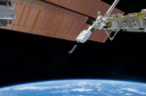 Vypuštění cubesatu z ISS.