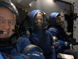 Nácvik posádky plánovaného prvního pilotovaného letu lodi Starliner