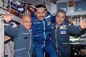 Dennis Tito (vlevo)