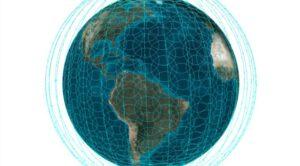 Plánované pokrytí světa sítí OneWeb.