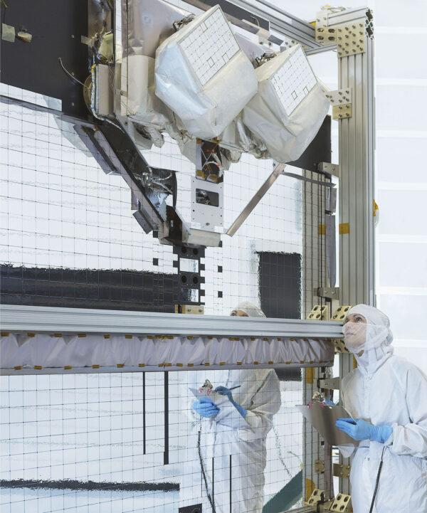 Zařízení LCRD (Laser Communications Relay Demonstration)