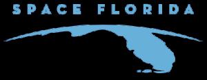 Logo státní společnosti Space Florida.