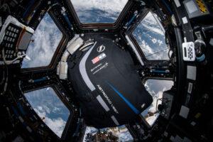 Vesta AstroRad při testování na ISS.