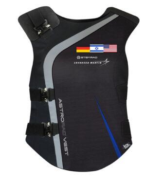 Izraelská vesta AstroRad má posádku chránit hlavně před částicemi vyvrhovanými ze Slunce.