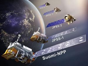 Vývoj družic JPSS.