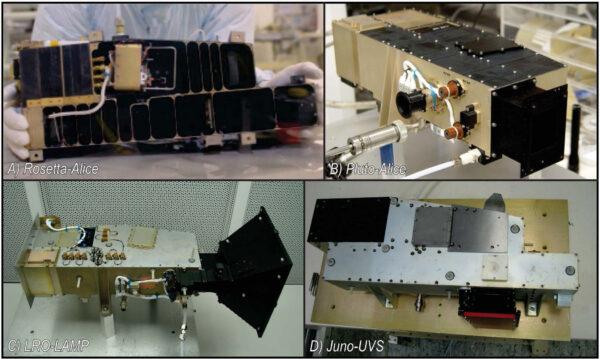 Přístroj UVS technologicky vychází z úspěšných přístrojů na dřívějších misích.