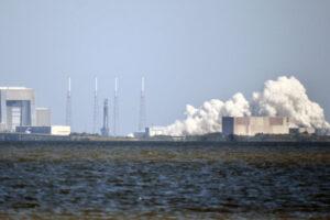 Statický zážeh Falconu 9 před misí CRS-20 na rampě 40