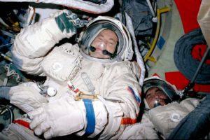 Solovjov s Vinogradovem během příprav na výstup