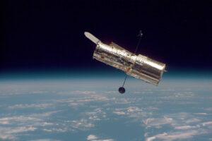 Hubbleův kosmický dalekohled.