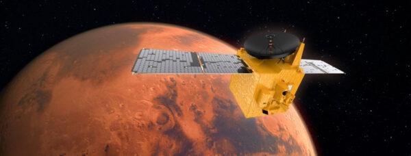 Vizualizace Al Amal u Marsu.