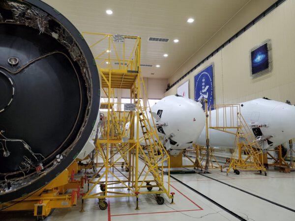 Příprava rakety Angara A5