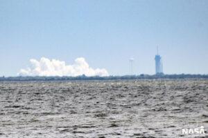 Statický zážeh Falconu 9 před misí Starlink 1-6.