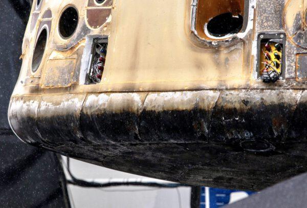 Detailní pohled na poslední Cargo Dragon