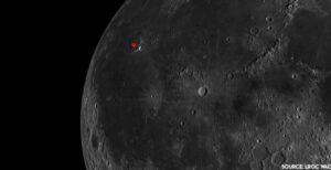 Místo přistání landeru Nova-C v rámci mise IM-1 leží v Oceánu bouří.