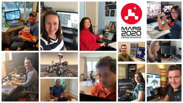 Tým JPL, který pracuje na Perseverance pracuje z 90% z domova