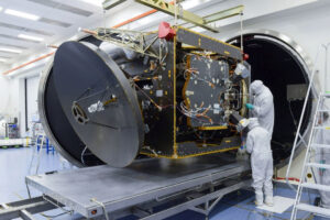 Sonda Al Amal (Hope) v Laboratoři atmosférické a kosmické fyziky