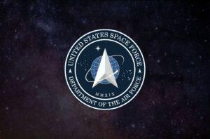 Znak amerických kosmický sil