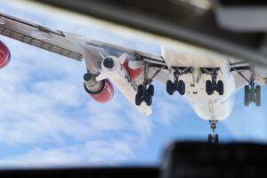 Raketa Launcher One v podvěsu Boeingu 747-400