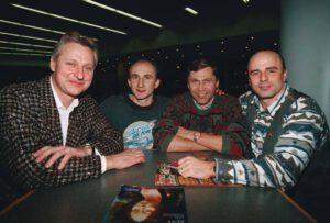 Slovenští finalisté: (zleva) Fulier, Grošaft, Babjak, Bella