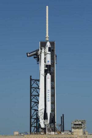 Falcon 9 a Crew Dragon pro misi DM-2