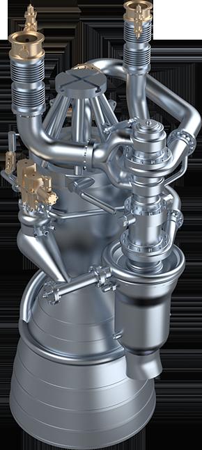 Welkin je moderní raketový motor na kapalné pohonné látky, který je silně inspirován motory Merlin společnosti SpaceX.