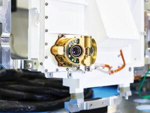 Inženýrský model přístroje SHERLOC.